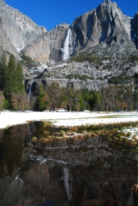yosemitefallsreflection